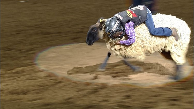 Double the Mutton Bustin' means double the champs Sunday