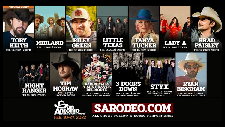 San Antonio Rodeo releases new list of entertainers 🤠
