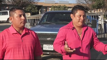 San Antonio brothers rush to aid of police officer struggling to apprehend suspect
