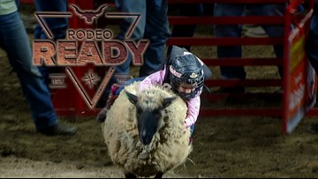 Getting Rodeo Ready with the Mutton Busters
