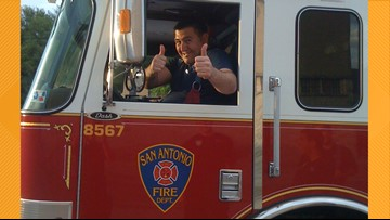 Spurs to honor SAFD firefighter before preseason game