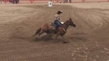 Texas Outdoors: Barrel racing at the San Antonio Rodeo