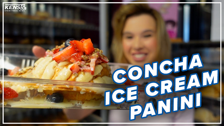 'Pick it up like a burger' | San Antonio bakery has ice cream sealed inside pan dulce