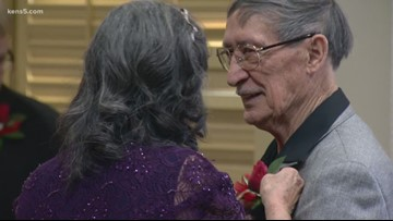 Love never dies: 83-year-old and 89-year-old tie the knot