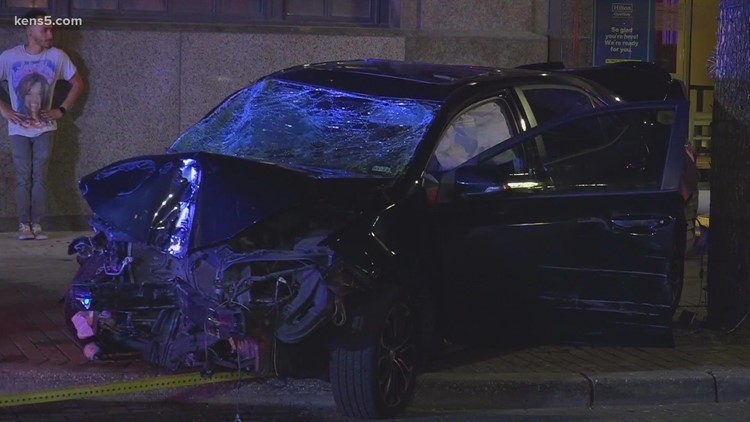 Driver looking at GPS on phone crashes into vehicle, police say