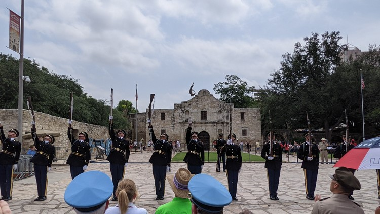 Army Day at the Alamo brings together Fiesta and the military