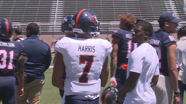Did we catch a glimpse of UTSA's starting quarterback at the Roadrunners' spring game?