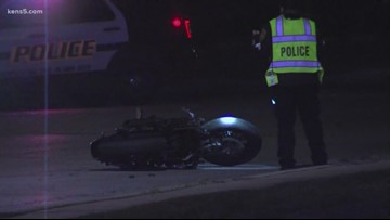 Overnight crash leaves motorcyclist dead