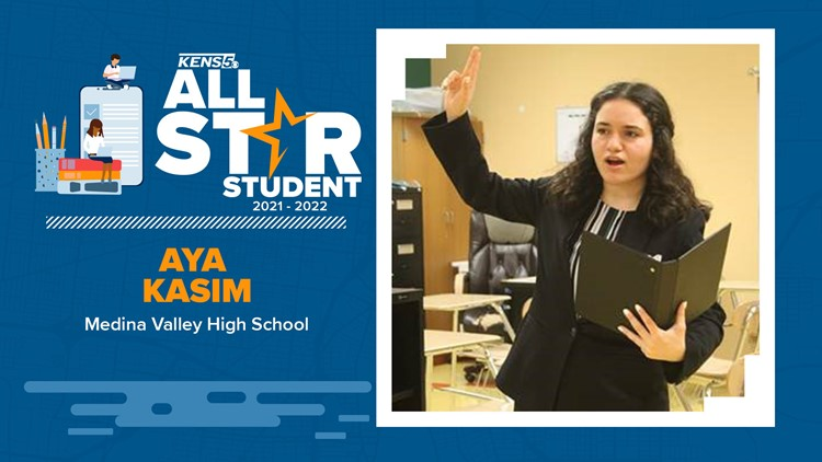 Medina Valley ISD student is devoted to helping others | All-Star Student