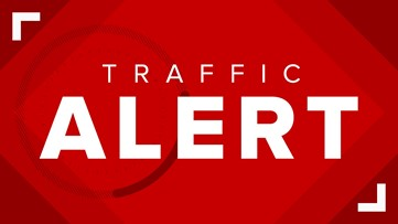 Eastbound access lanes on Highway 90 near Hunt Lane closed for repairs