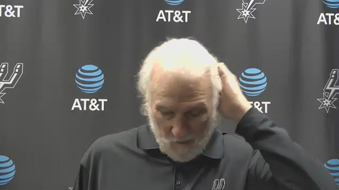Gregg Popovich breaks down how Spurs beat Knicks 119-93 on second night of back to back