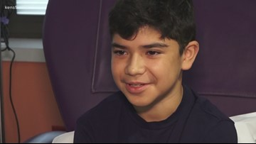 Wear The Gown: 13-year-old Nathan Ramos fearless in his battle with juvenile arthritis
