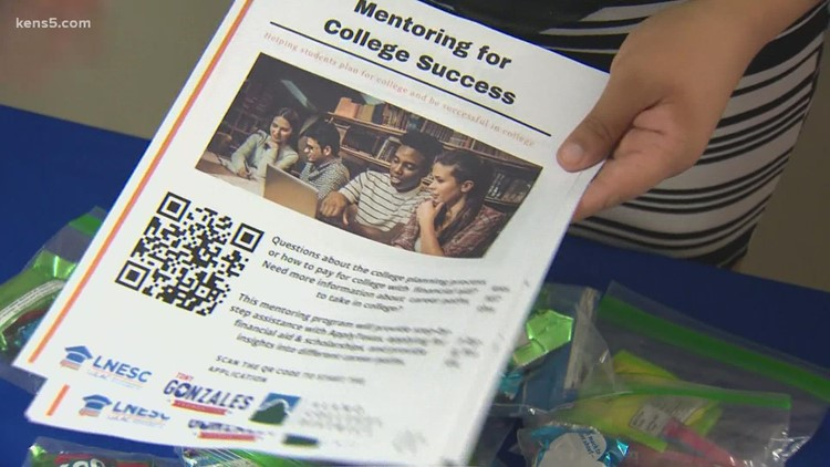 San Antonio students provided with mentors for college success