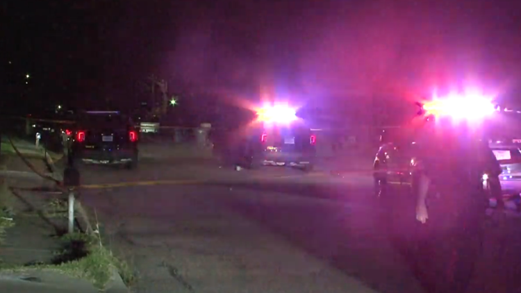 SAPD: Man shot in the arm while sitting on curb outside home