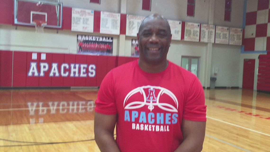 Former Burbank coach Herbert Jackson shares Apaches' second championship with Coach Bernal