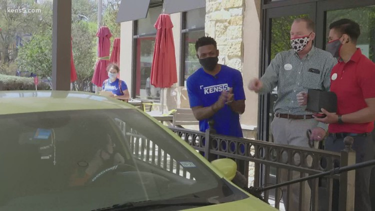 KENS 5, Chick-Fil-A team up to feed San Antonio's medical professionals | Good Things Happen