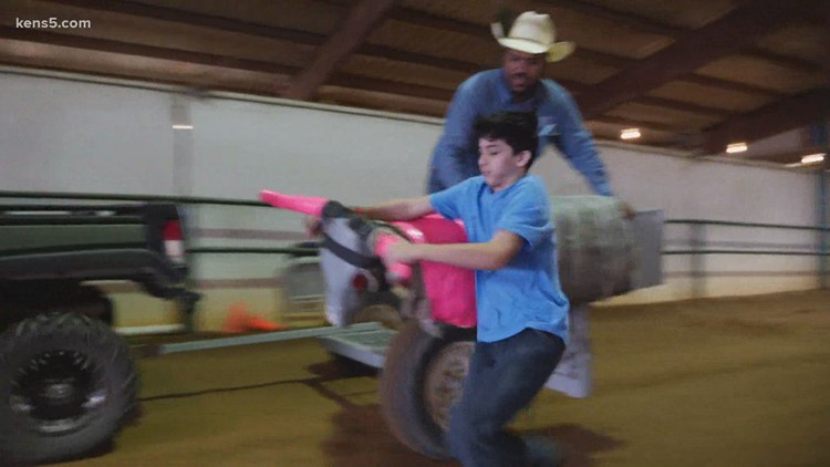 Getting 'rodeo ready' at the Junior PRCO Rodeo Camp