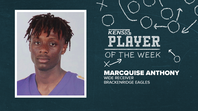 Brackenridge WR scores twice to lift Eagles to victory | Player of the Week