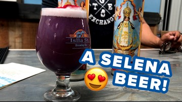 Brewery debuts Selena-themed beer in honor of the Queen of Cumbia's birthday