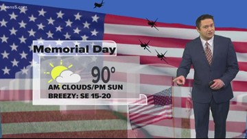 First Alert: Nice, but warm, weekend for Memorial Day