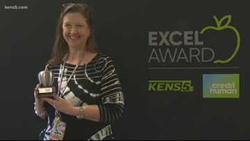 Cheryl Kindred wins EXCEL award for Southside ISD