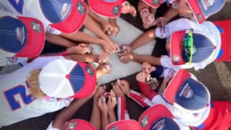 San Antonio Pony League baseball team wins World Series