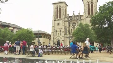 San Antonio's 300 birthday celebration includes newborn