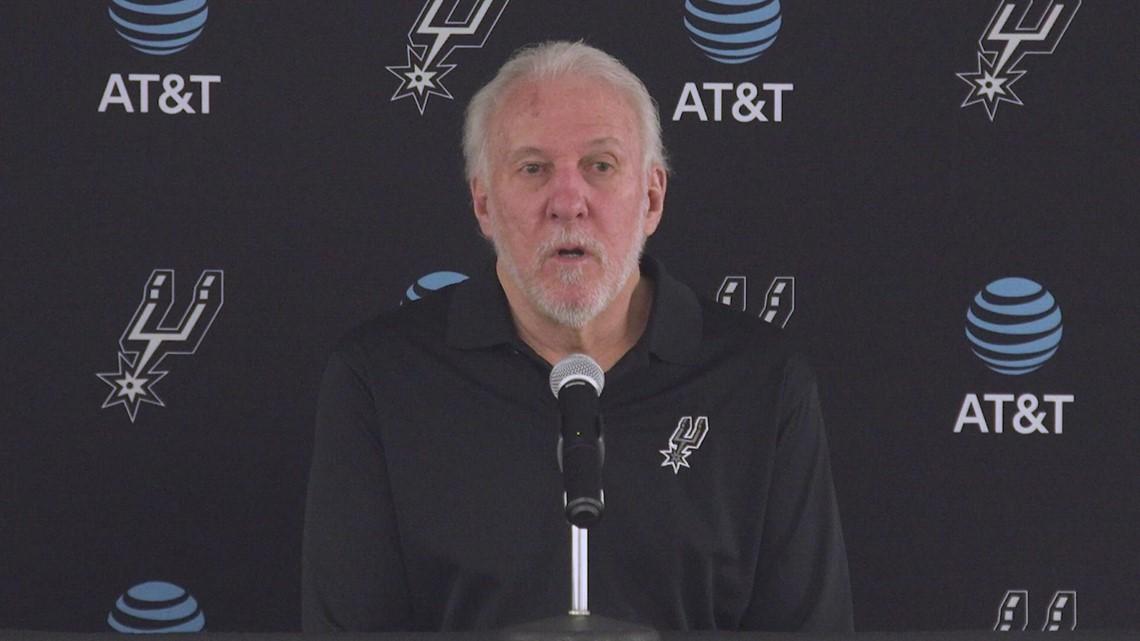 Gregg Popovich reflects on opening-night butterflies to start 2021-22 Spurs season