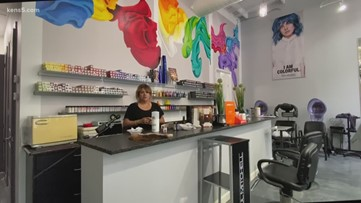 Local hair salon thinking outside the beauty box to accommodate clients while closed