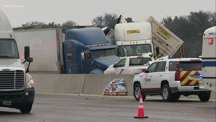 Winter driving precautions to take as icy roads cause crashes across Texas