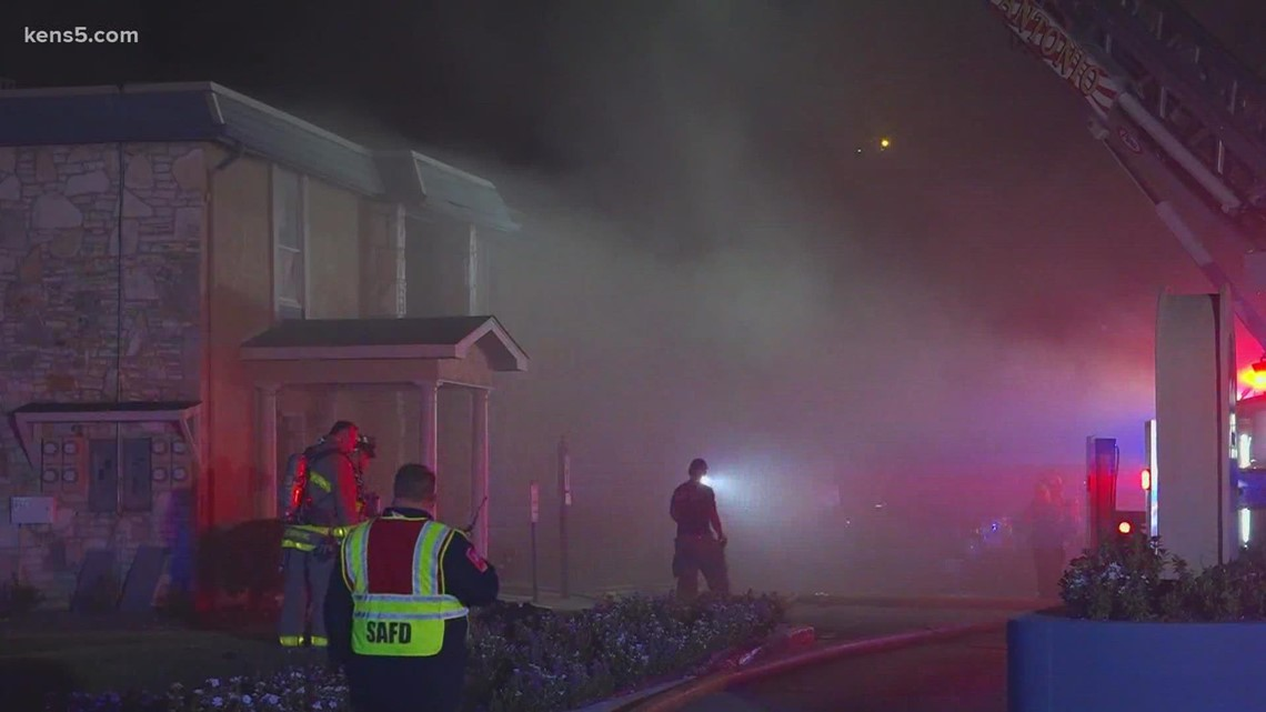 Several families forced out of homes due to apartment fire on northwest side