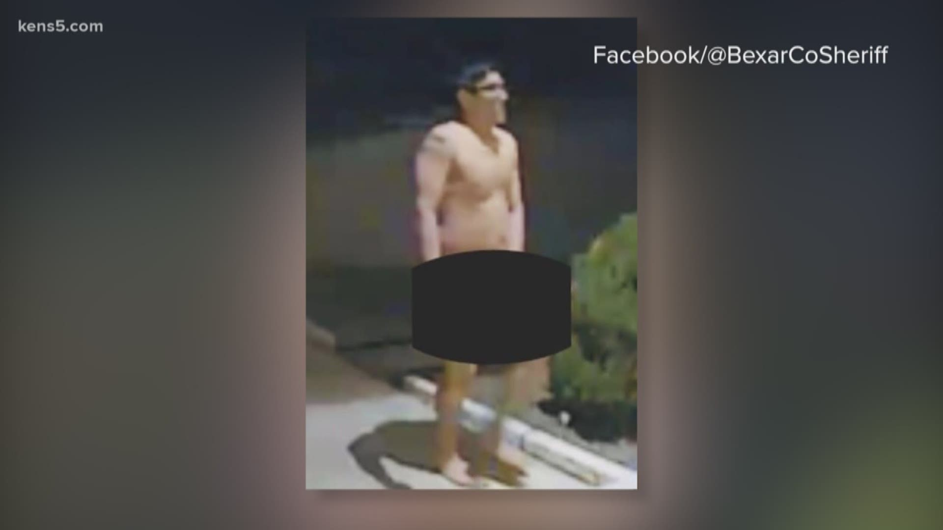BCSO searching for identity of nude man spotted walking