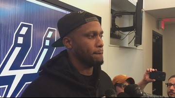 Spurs forward Rudy Gay on the win over the Kings
