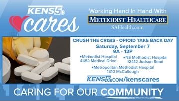 KENS CARES: Dispose of old medications at 'Crush the Crisis' Opioid Take Back Day