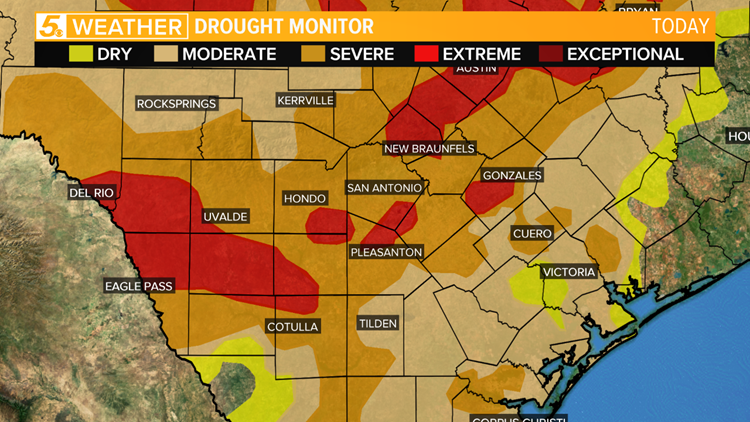 Drought continues to worsen in South Texas