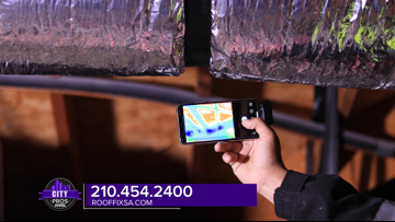 CITY PROS: Roof Fix uses thermal imaging to uncover water damage in San Antonio homes