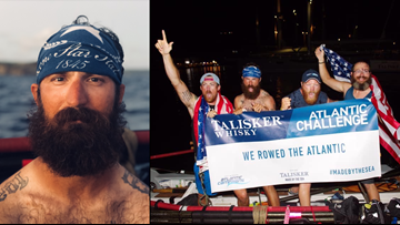San Antonio veteran completes toughest rowing competition in the world