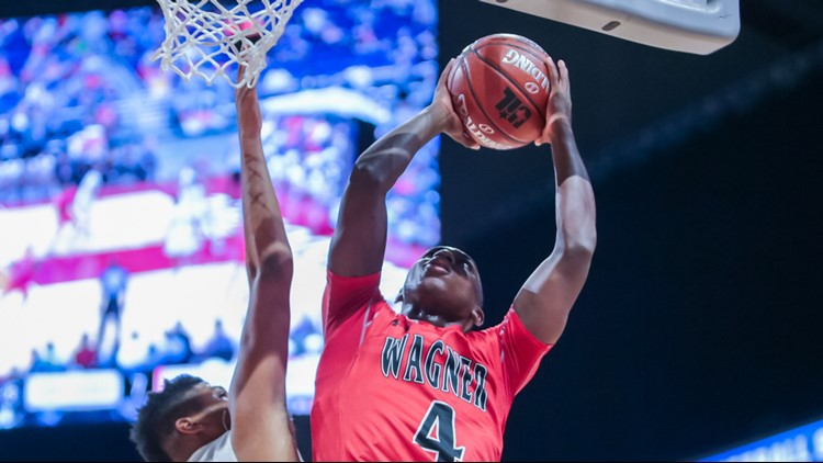 Wagner senior point guard Jalen Jackson in 5A state final