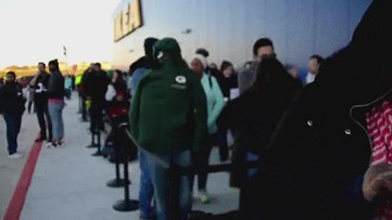 Thousands flock to IKEA for furniture megastore's opening