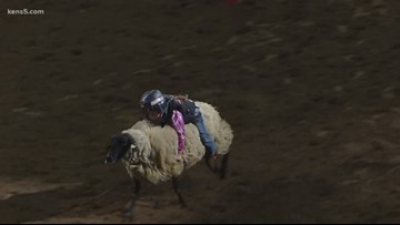 Thursday's Mutton Bustin' victor