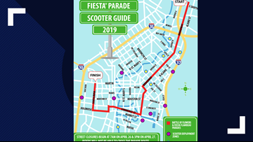 City sets scooter rules for Fiesta Parades