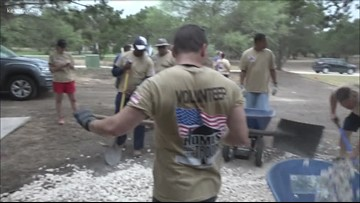 A home for a hero: Nonprofit builds custom house for wounded veteran