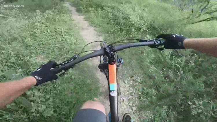 It's a totally different view from the top of a mountain bike   Texas Outdoors