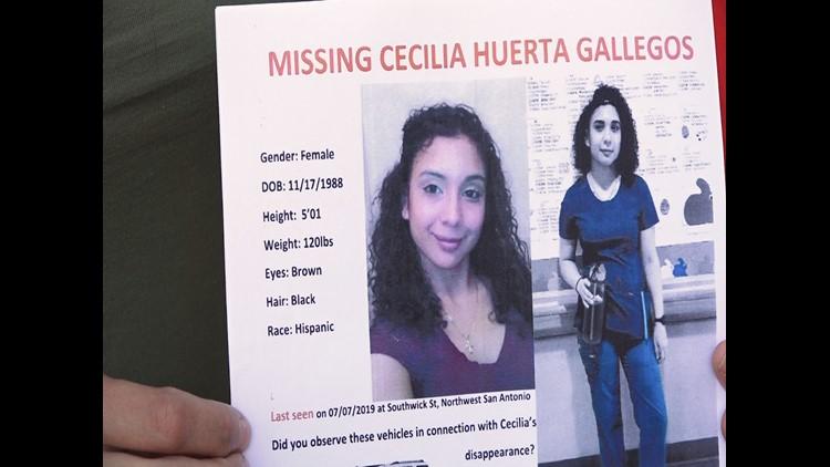 missing cecilia Huerta Gallegos