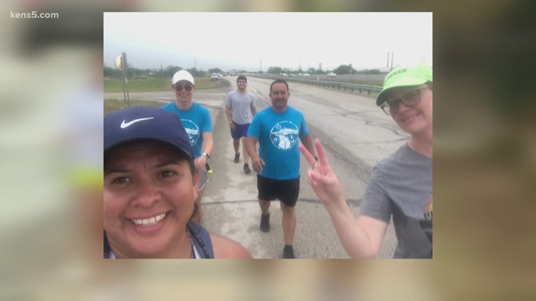 'It was everything I could have asked for' | Ending to San Antonio veteran's run to Austin Capitol exceeded her hopes