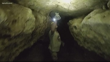 Texas Outdoors: Crawling through Robber-Baron cave is like walking through history