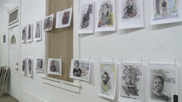 Art exhibit allows veterans to share emotions that come with war