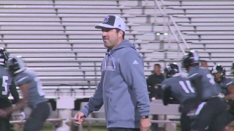 Local high school football coach is a whistler
