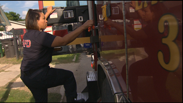SAFD looking to recruit more female firefighters