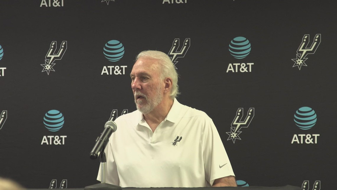 Gregg Popovich speaks about Giannis, Coach Bud, and his own young core ahead of Spurs Bucks